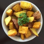 Roasted Potatoes and Butternut Squash