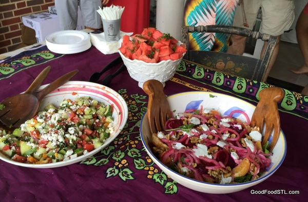 Salads for the family meal