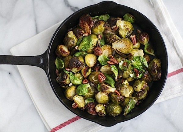 Duck Fat Brussel Sprouts