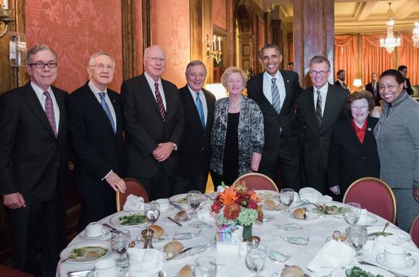 Democratic U.S. Senators reunion