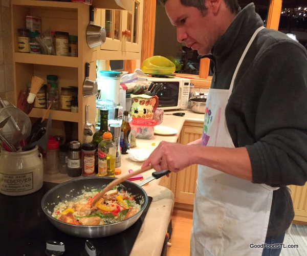 New Year's Eve paella