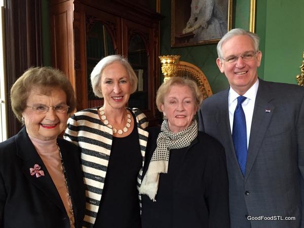 Betty Hearnes, Georgianne, Jean, Jay Nixon 2016