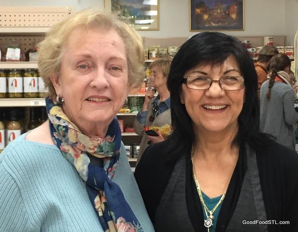 Toni Ribaudo at Di Gregorio's Grocery