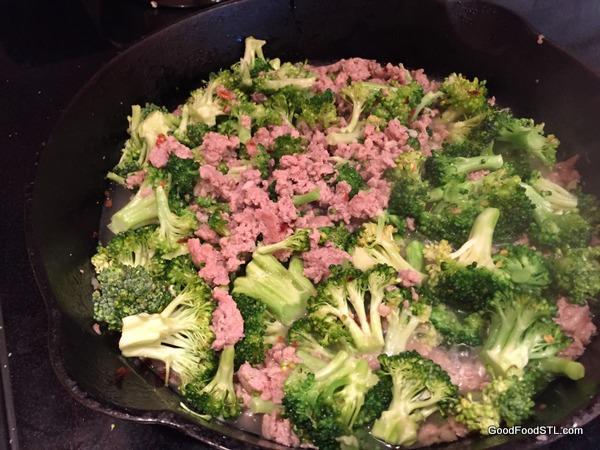 orecchiette broccoli sausage