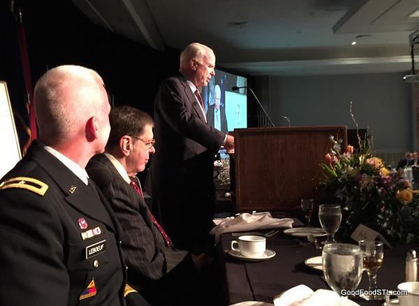 Sen. John McCain speaking at Good Neighbor Award lunch