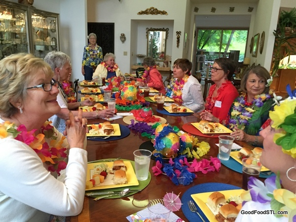 food, fun and friendship about at this women's club gathering