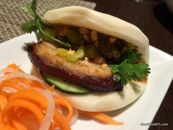 Hiro's braised pork belly bun