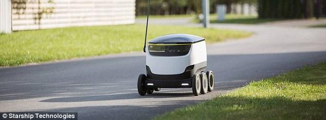 Robots deliver