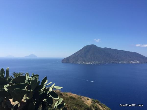 Aeolian Islands from Limpari Sicily
