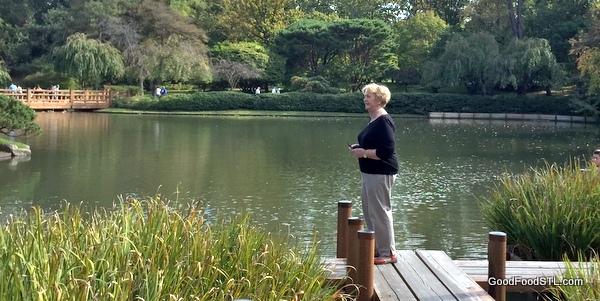 Jean Carnahan at the Missouri Botanical Garden