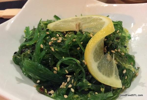 Tani Sushi seaweed salad