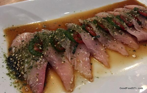 yellow fin tuna Tani Sushi