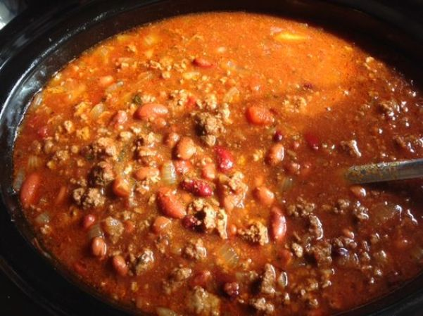 pot of chili
