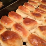 Parker House Rolls: the Folded Over Roll