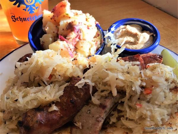 Schneithorst's Brats and Sauerkraut