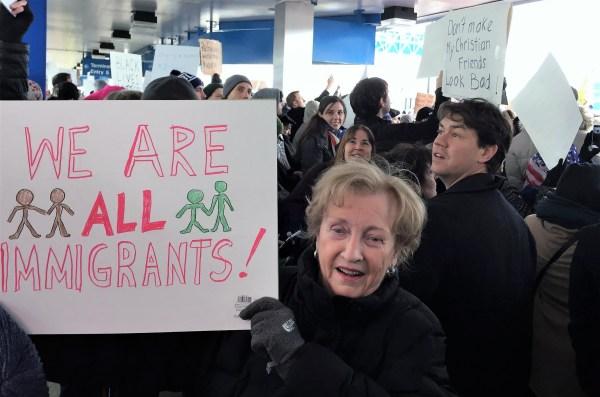 Lambert airport protest