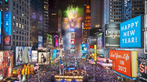 Times' Square New Year's 2017