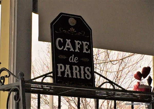 Decorations from Like Home French Cafe and Pastry Shop