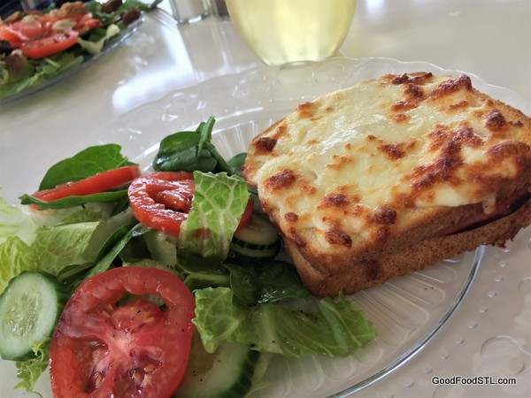 Croque Monsieur from Like Home French Cafe and Pastry Shop