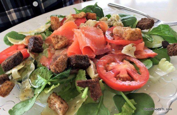 Salmon salad Like Home French Cafe and Pastry Shop