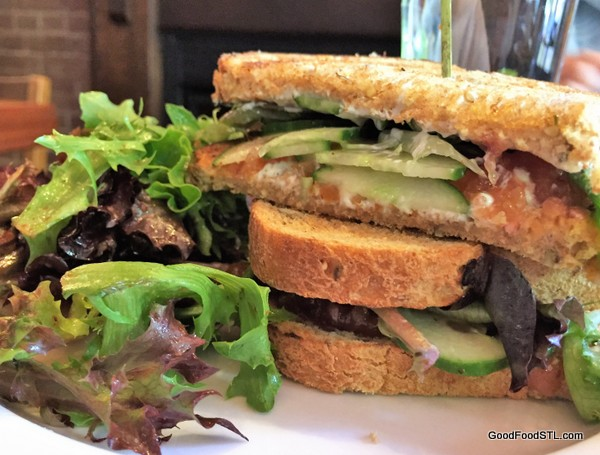 The Mud House sandwich