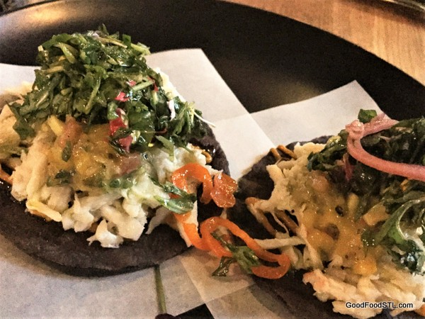 Crab Tostadas at Nixta