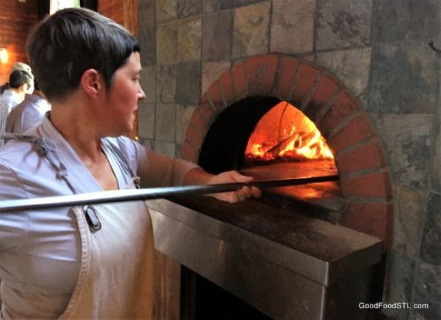 Claverach Farm pizza oven