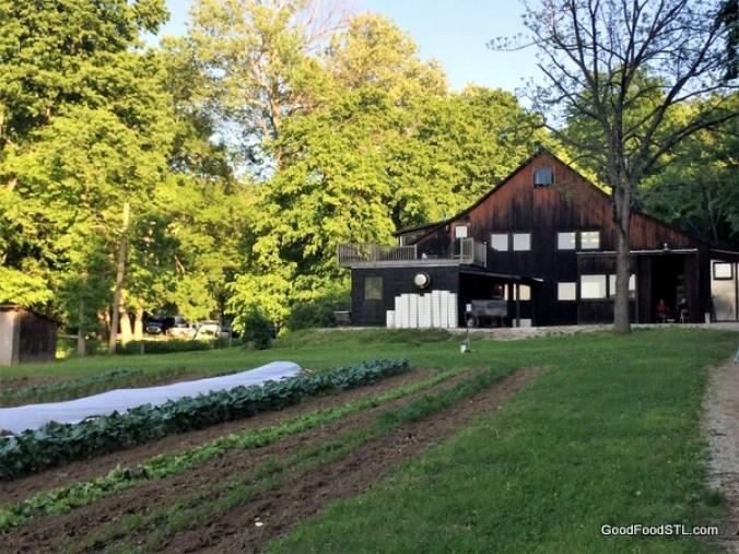 Claverach Farm barn