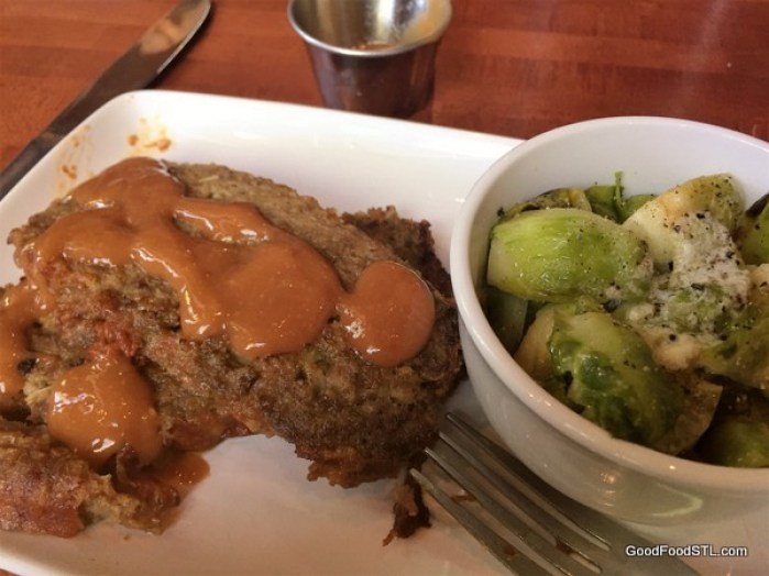 Meatloaf at the Shaved Duck