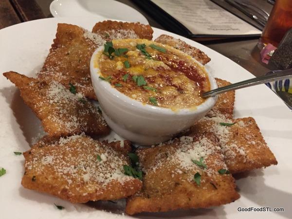 Toasted Ravioli at at Anthonino's Taverna
