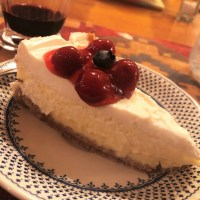 Three Cities in Spain Cheesecake