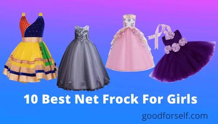 10 Best Net Frock For Girls