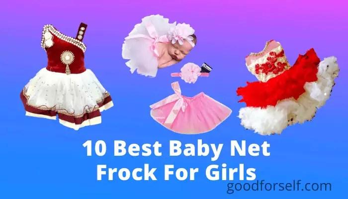 10 Best Design Baby Net Frock