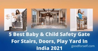 5 Best Baby & Child Safety Gate For Stairs, Doors, Play Yard In India 2021 (1)