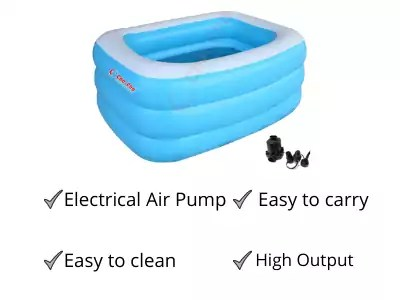Cho-Cho Inflatable Bath Tubs best water tub for kids