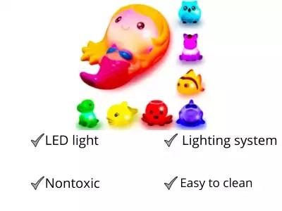 WISHKEY Plastic Non Toxic BPA Free