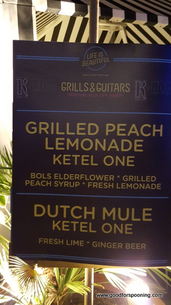 Ketel One had my fave drinks of the night, but there was a great Jack Daniels Peach offering as well