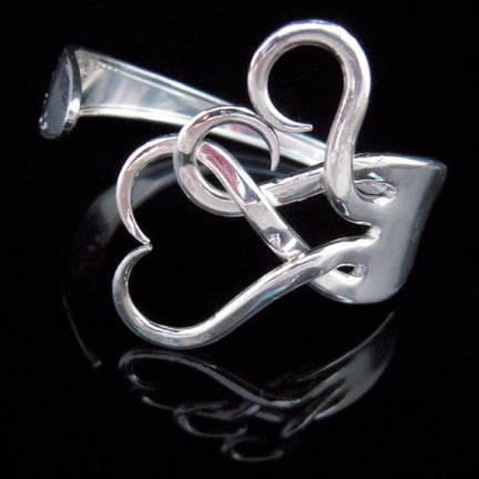 Twisted Fork Bracelet by MarcelloArt on Etsy