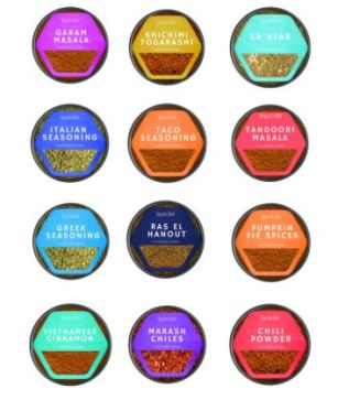 Raw Spice Bar Global Spices Starter Set $78 on their website - give the gift of flavor