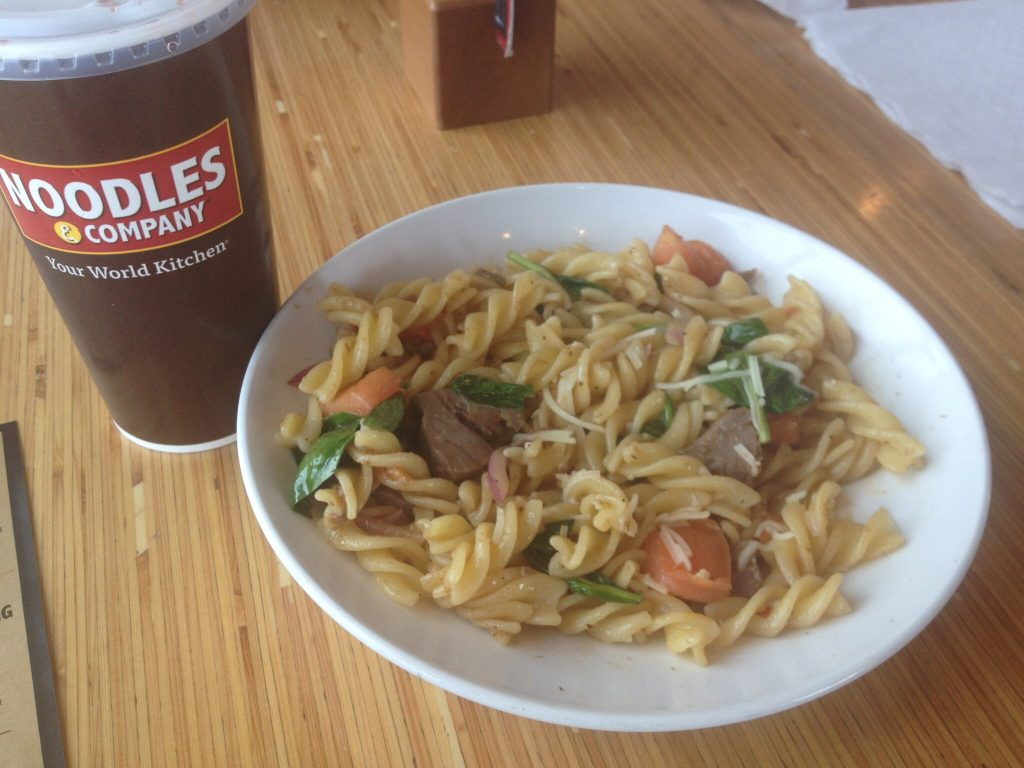 Noodles and Company Gluten Free Experience