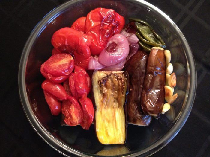 Roasted Veggies for dip