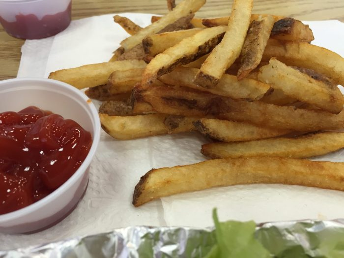 Five Guys gluten-free fries