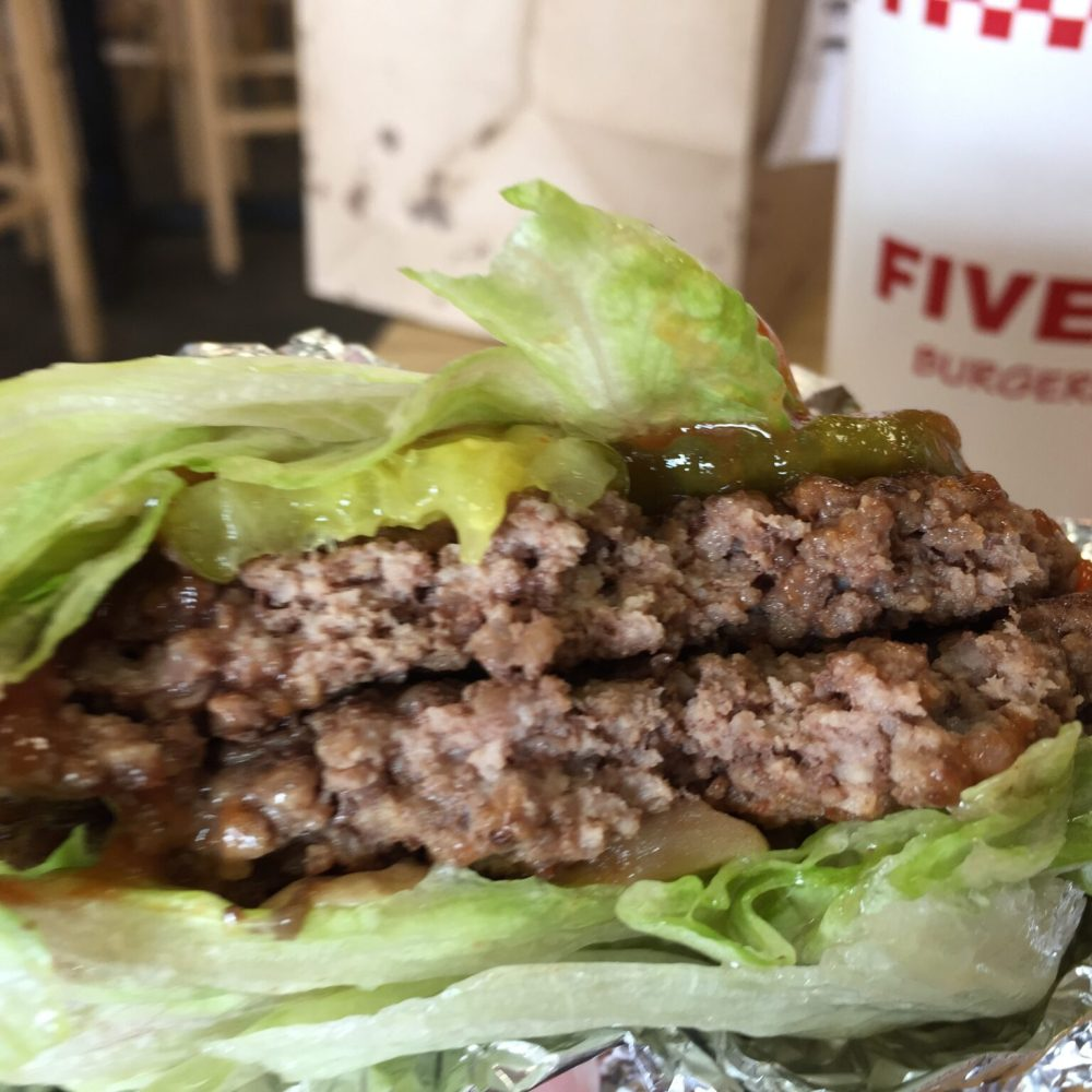 Five Guys Is the Perfect Gluten Free Burger Restaurant