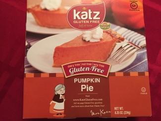 Katz gluten free pumpkin pie