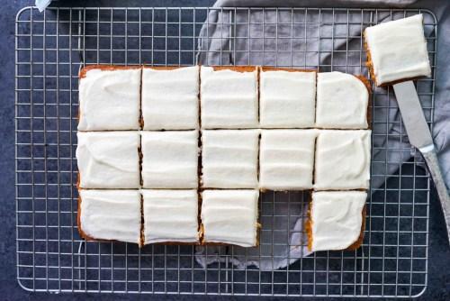 Gluten-Free Pumpkin Squares Recipe header