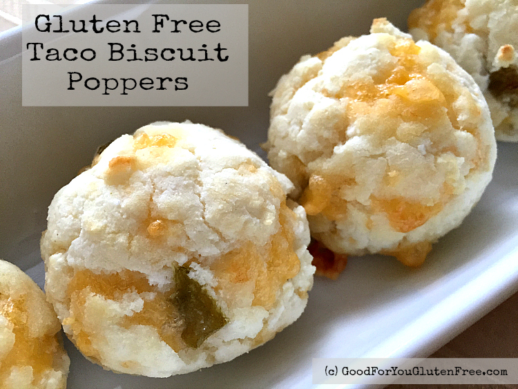 Gluten-Free Taco Biscuit Poppers Recipe