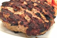 Juicy Turkey Burger Recipe - header