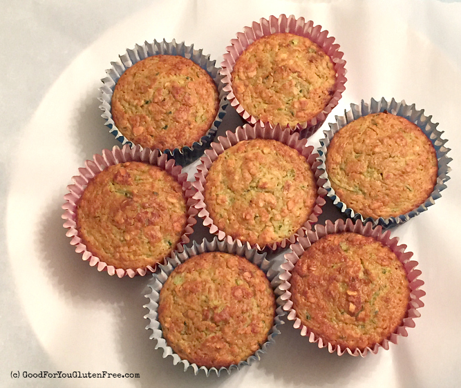 Lemony Zucchini Muffins 2 Gluten-Free