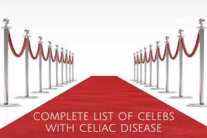 A complete list of celebrities with celiac disease header