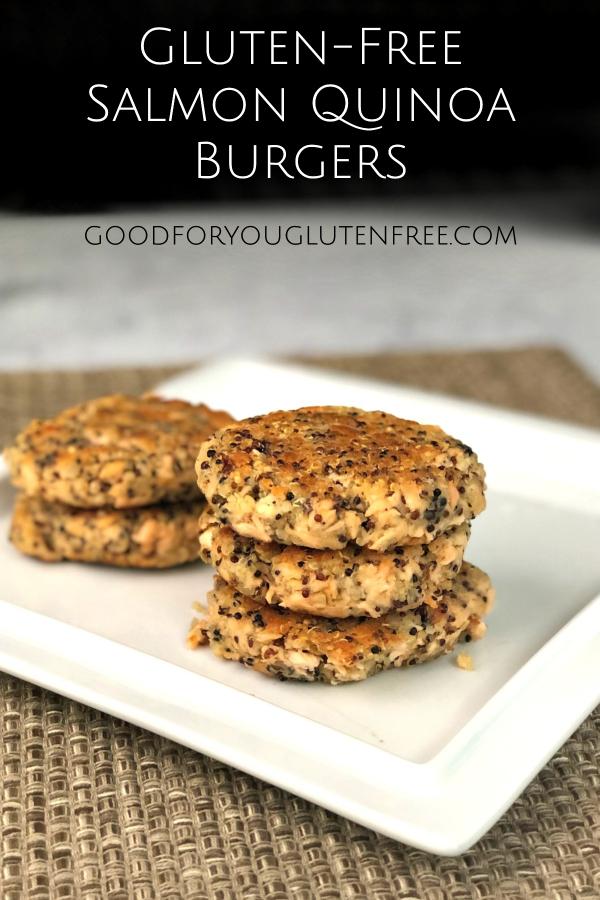 Gluten-Free Salmon Quinoa Burgers - Good For You Gluten Free